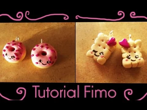 Ciambelle e biscottini Kawaii in Fimo – Videotutorial