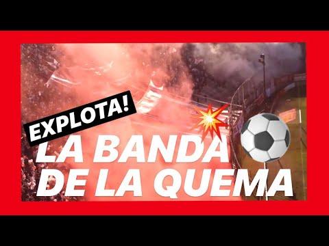 TeRRiBle ReCiBiMiEnTo De La HiNcHaDa De HuRaCaN - 28/7/2012 - La Banda de la Quema - Huracán