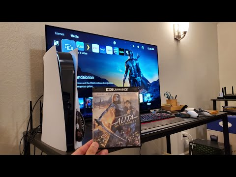 PS5 Playstation 5 4K UHD Bluray HDR and Dolby Atmos Test