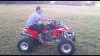 6. 2005 Honda TRX 450r - Review