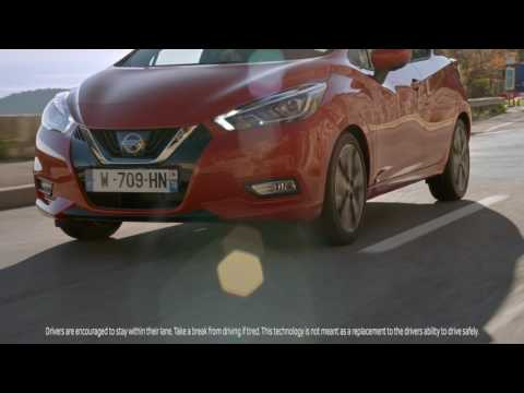 The All-New Nissan Micra: Intelligent Lane intervention