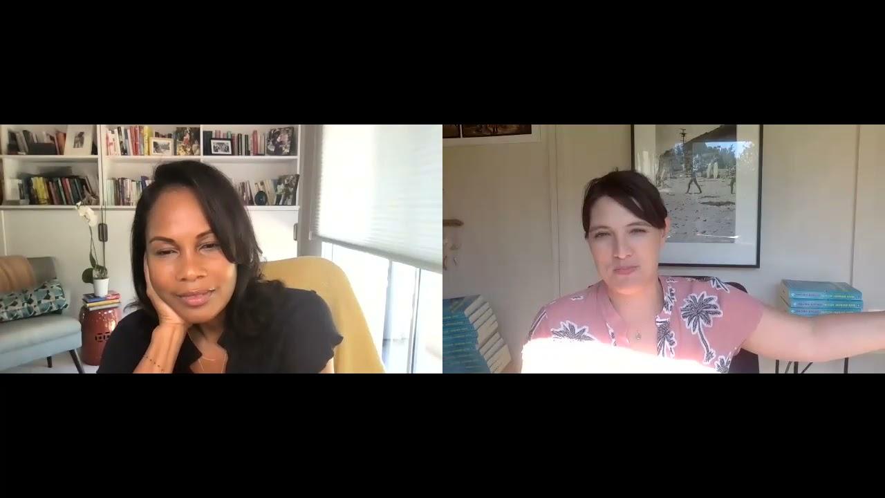 Taylor Jenkins Reid w/Robinne Lee discussing MALIBU RISING