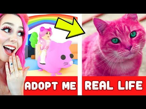 REALISTIC ADOPT ME IN REAL LIFE! Real Life ADOPT ME! Roblox IRL