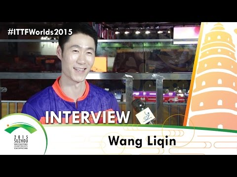 Wang Liqin - Qoros 2015 World Championships Interview