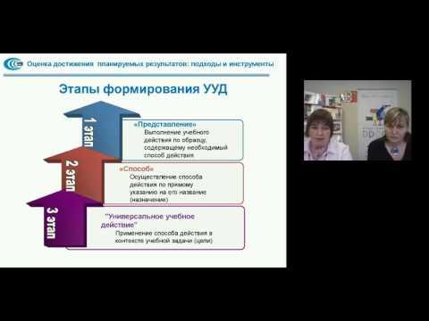 Оценка достижения планируемых результатов: подходы и инструменты