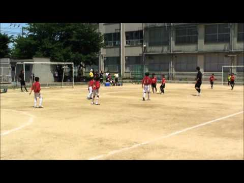 2012-7-16 生野南小 生野サッカー連盟 3年生大会 対 生野ヒーロ