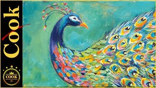 Learn to apply color, and paint  outside the box. with this step by step tutorial of How to Paint a Dramatic  Peacock with a colorful Splash using Acrylic  Paints for the Beginner Artist. Ginger will show how layering warm and cool complementary colors becomes eye candy for the viewer. Decorative abstract art allow each artist their own freedom to express personalized creativity . Canvas size 8x20.Visit our website for the exciting conclusion to this video free;https://gingercooklive.gallery/yt-peacock-completePlease SUBSCRIBE to this channel to show your support and to stay informed about new releases and live broadcasts. Be sure to TURN ON the alarm under the little bell. Being the GOLD STANDARD in acrylic painting tutorials, Ginger Cook will be exploring the Fine Art of Acrylic Painting by offering tips and tricks to help you with your own acrylic paintings. During her live broadcasts, Ginger will be taking questions and may demonstrate the answer when possible. Learn more about acrylic painting lessons:WEBSITE: https://gingercooklive.galleryPINTEREST: https://gingercooklive.gallery/yt-pinterestFACEBOOK: https://gingercooklive.gallery/yt-facebookNEWSLETTER & FORUM SIGN UP FORM: https://gingercooklive.gallery/yt-newsletter-forum Contact Information:Website: https://gingercooklive.gallery/contact-us/