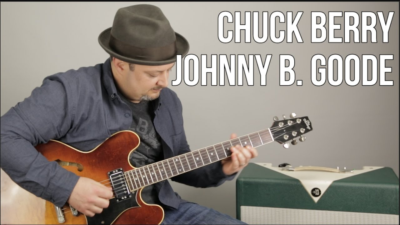 Chuck Berry – Johnny B. Goode – How to Play on guitar – Guitar Lesson, Tutorial