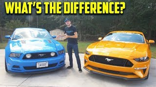 Should You Buy a 2018 Mustang GT Over a 2013 Mustang GT? - Which is Better? (In Depth Comparison)