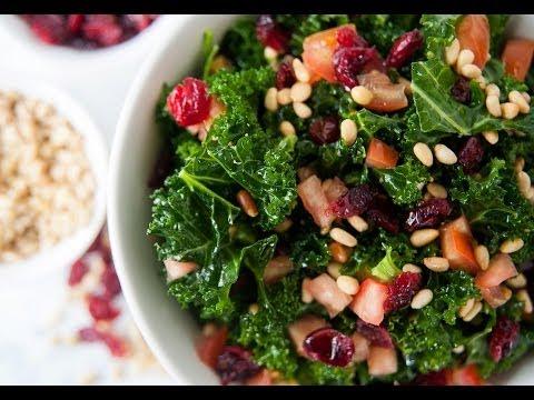 Raw Kale Salad Recipe – Marcel Cocit – Love At First Bite Episode 1