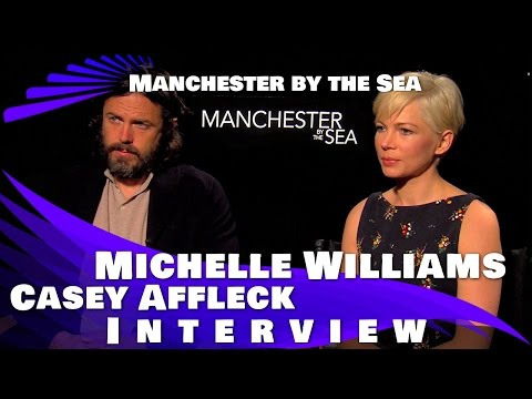 "Casey Affleck and Michelle Williams Interview ""Manchester by the Sea"" And Movie Review"