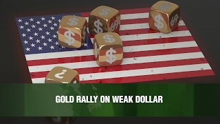 O dólar mais fraco estimulou a alta do ouro, mas o efeito poderia ser apenas temporário. Jens Pedersen, Danske Bank. You can view this video and the full vid...