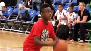 "9-year old ""LeBron James Jr."" at 2014 AAU Championships"