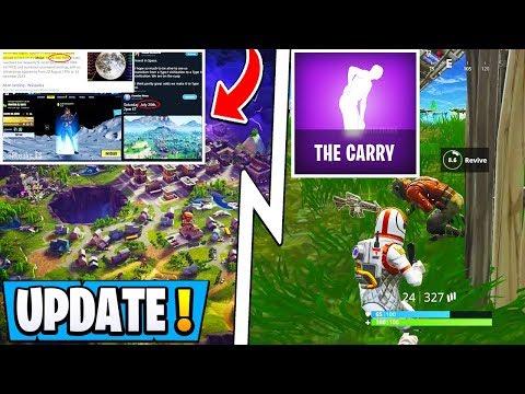 "*NEW* Fortnite Update! | S10 Moon Map, Custom ""Revive Rituals"", 9.40 Release!"