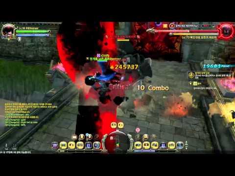 Dragon Nest Dark Avenger BDN stage 1 deathless burpy solo!