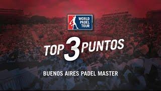 video Los 3 mejores puntos del Buenos Aires Padel Master