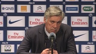 """OL - OM, je serai neutre !"" Conférence PSG - Nancy (2-1) - YouTube"