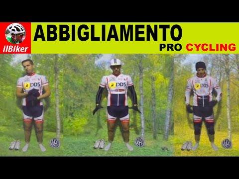 ABBIGLIAMENTO CICLISMO | come vestirsi in ogni stagione [italiano+SUB]