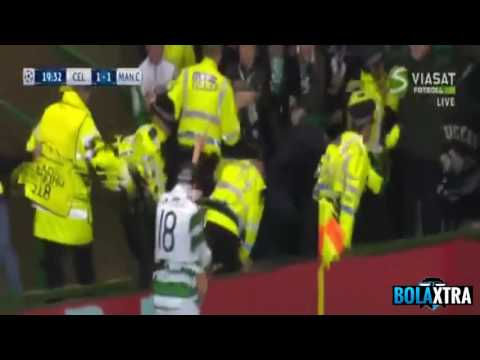 Cuplikan Gol Celtic vs Manchester City 3-3 All Goals & Highlight (29 September 2016)