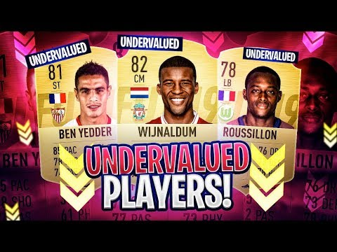 UNDERVALUED & OP PLAYERS IN FIFA! FIFA 19 Ultimate Team (видео)