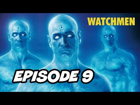 Watchmen Episode 9 Finale Doctor Manhattan - TOP 10 WTF and Easter Eggs