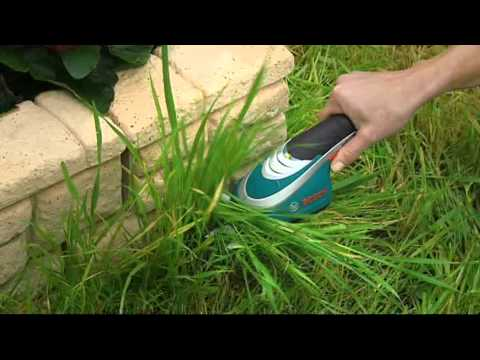 Bosch Isio 10.8V Li-ion Cordless Grass Edging Shear