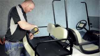 10. Rear Seat Kit for Yamaha® Drive®   How to Install Video   Madjax® Golf Cart Accessories