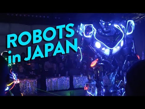 WHY DO JAPANESE LOVE ROBOTS?! - Fung Bros World Tour
