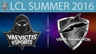 VeS vs Vega, game 1