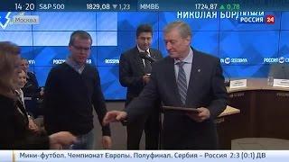 Глава ОДКБ наградил журналистов ВГТРК