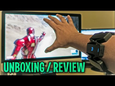 Unboxing & Let's Play - MYO - Gesture Control Superhero Armband - ThalmicLabs - FULL REVIEW!