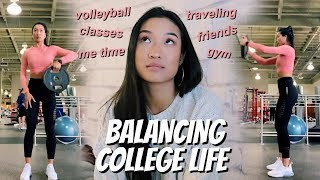 Balancing College Life + Staying Motivated | WEEKLY VLOG 05