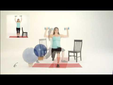 Pregnancy Exercise for PregoFIT Workouts Month 5; Clip 1