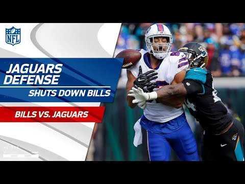 Video: Jags Defense Holds Buffalo to 3 Points in the Playoffs! | Bills vs. Jaguars | Wild Card Player HLs