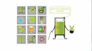 Battery Cartoon Widget Upgrade YouTube video