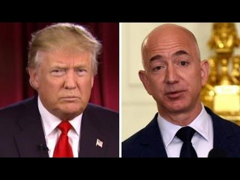 Trump: Amazon CEO using Washington Post for political power