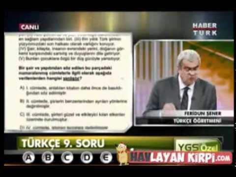 0 2012 YGS Türkçe Soruları ve Çözümleri