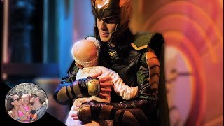 4 YEAR OLD MELTS LOKI'S HEART WITH A HUG!! *AVENGERS*