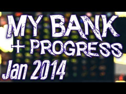 Runescape 3 - My Bank Video + Progress - Jan 2014