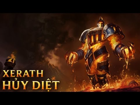 Xerath Hủy Diệt - Scorched Earth Xerath