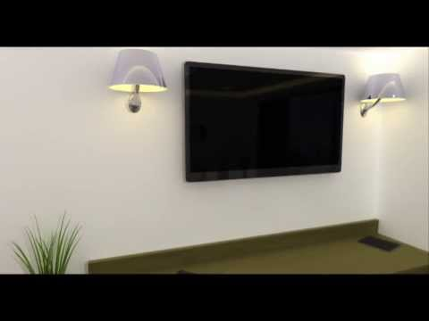 Lightwave 3D Interior Hotel Room Animation