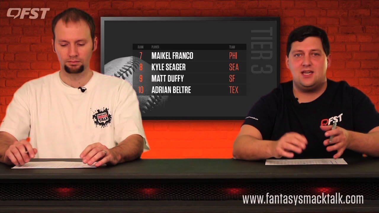 2016 Fantasy Baseball Third Base Rankings thumbnail