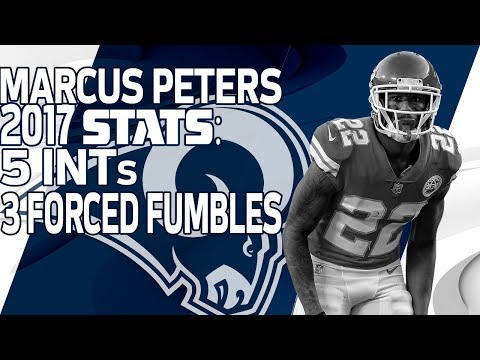 Video: New Rams CB Marcus Peters' 2017 Highlights |