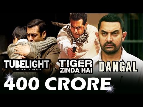 Video Aamir Khan SETS 400 CRORE Target For Salman's TUBELIGHT & Tiger Zinda Hai download in MP3, 3GP, MP4, WEBM, AVI, FLV January 2017