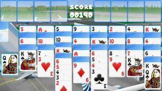 Airport Free Cell Solitaire YouTube video