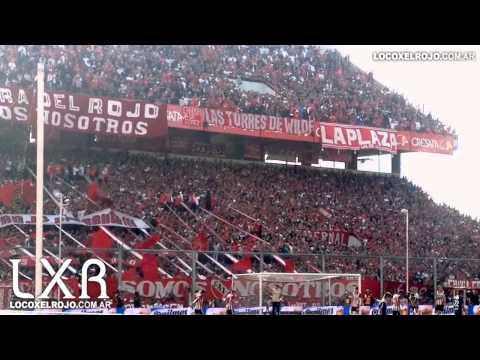 Independiente vos sos mi pasion vs Estudiantes 0-0 - La Barra del Rojo - Independiente