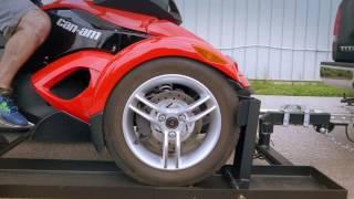 10. Can Am Spyder Trailer by Stingertrailer.com