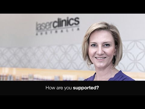 Tell us about the support you receive from Laser Clinics Australia?