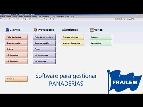 Software para gestionar Panaderías