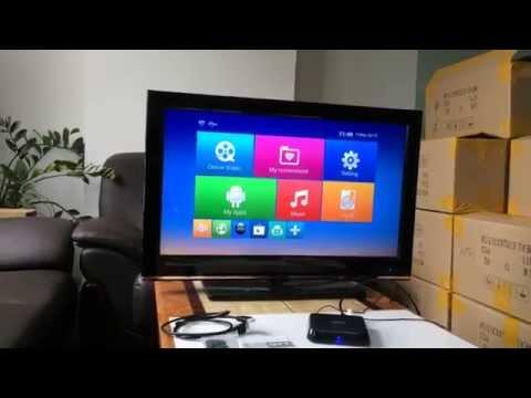 M8 OTT TV Box 4K Media Player Support 4K HDMI Output Fully Load